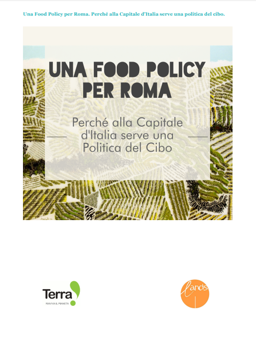 Food Policy cover